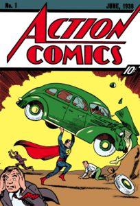 Pierwszy zeszyt komiksu Supermana